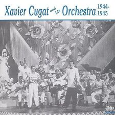 NEW Xavier Cugat & His Orchestra 1944-1945 (Audio CD)