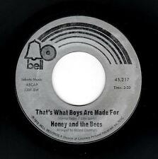 NORTHERN SOUL/PHILLY GIRL GROUP-HONEY & THE BEES-BELL 45217-HAS SOMEBODY TAKEN M