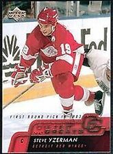 2002 Upper Deck Steve Yzerman #GG8 Hockey Card