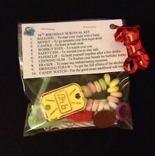 18th BIRTHDAY SURVIVAL KIT Birthday Gift 18th Present For Him Her Friend