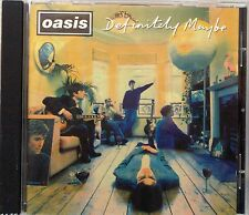 """Oasis - Definitely Maybe (CD 1994) Features """"Live Forever"""" """"Supersonic"""