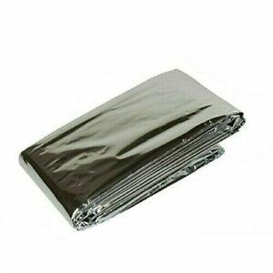 Emergency Aluminum Foil Blanket Silver Survival Compact Medical Blankets Sheets