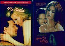 9 1/2 WEEKS-ANOTHER-FIRST-Sexy Kim Basinger-Angie Everhart-Clara Beller-NEW 3DVD