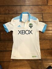 Mls Seattle Sounders Soccer Team Adidas Jersey Adult Size Small