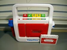 Fisher Price Cassette Player Recorder With Microphone and Tape. Works Great.