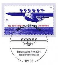 BRD 2004: Flugboot Do X Nr. 2428 mit Berliner Ersttags-Sonderstempel! 1A 1703