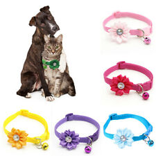 Pet Cat Collar Adjustable with Bell Dog Puppy Collars Necklace Necktie Chic