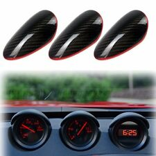 carbon + red line For Nissan 370Z z34 COUPE 2D FRONT GAUGE COVER POD TRIM MIT