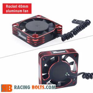 Surpass Hobby Rocket 40mm Aluminium High Speed 16000rpm fan Red / Black UK Stock