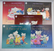 SET 5 THE LARGE FAMILY JILL MURPHY ELEPHANTS CHILDRENS STORY BOOKS BESTSELLERS