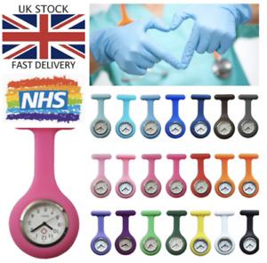 Silicone NURSE WATCH Hospital GP Medical Doctor Vet Fob Watch Uniform (R) UK
