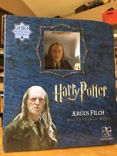 Rare Harry Potter Argus Filch Gentle Giant Bust 148/400 Premier Guild Exclusive