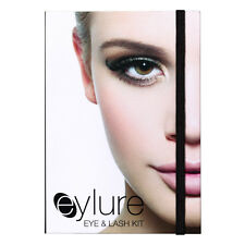 Eylure Cálido Smokey Eye & Lash Maquillaje Kit-Máscara de sombras de ojos pestañas falsas