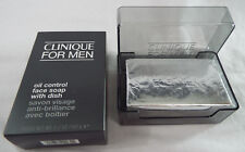 Clinique For Men Oil Control Face Bar Soap With Dish 5.2 oz
