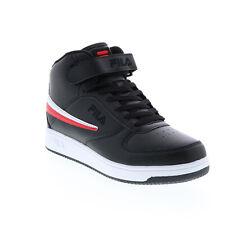 Fila A-высокие 1CM00540-014, мужские, черные синтетические повседневные кроссовки, обувь