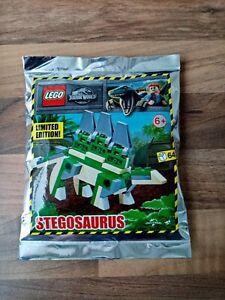 Lego Jurassic World 122111 - Stegosaurus (Limited Edition)- Brand New Foil pack