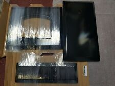 set! 3 NEW BLACK DOOR SKINS panel to fit RANGEMASTER 90cm classic genuine