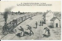 CPA 58 - Légendes de saint-Saulge - Le Tacot
