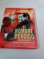 """DVD """"EL HOMBRE PERDIDO (DER VERLORENE)"""" COMO NUEVO DIGIPACK PETER LORRE KARL JOH"""