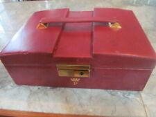 Leather Jewelry Case Vintage 'Asprey ' London