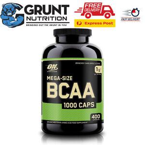Optimum Nutrition BCAA 1000 CAPS 400 CAPSULES