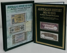 *BRAND NEW* Australian History 1901-2001 As Seen Through Banknotes with Slipcase