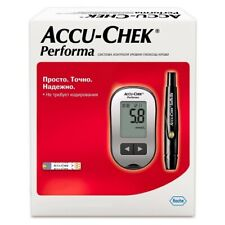 Accu-chek Performa Glucose Monitor Meter 10 Softclix lancets 10 test strips