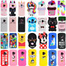 Cute 3D Cartoon Soft Silicone Phone Case Cover For Samsung S10 S9 S8 S7 S6 Plus