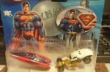 HOT WHEELS  2006 SUPERMAN VS. LEX LUTHOR 2 Car Set 1:64