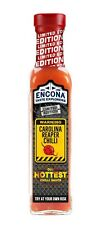 Encona Carolina Reaper Chilli 142 ml salsa piccante Limited Edition salsa hot