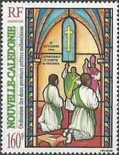 Timbre Religion Nouvelle Calédonie 724 ** année 1996 lot 5617
