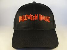 Halloween Haunt Knotts Veteran Vintage Adjustable Strap Hat Cap Size M/L Black