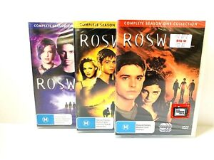 ROSWELL Complete Seasons 1,2,3 TV Series DVD R4 (17 Discs) BRAND NEW SEALED