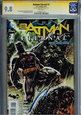 Batman Eternal #1 Cgc 9.8 Ss Signature Series James Tynion Iv Signed Autographed