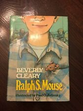 SIGNED Ralph S. Mouse By Beverly Cleary 1st 1st 1982
