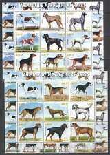 D1374 2000 CONGO DOGS RARE BREEDS FAUNA ANIMALS OF THE WORLD !!! 2SH MNH