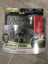 TRANSFORMERS: OPTIMUS PRIME LIMITED EDITION Preview Pack w/ 3D Glasses MOSC NIB