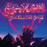SAXON – POWER & THE GLORY REMASTERED REISSUE (NEW/SEALED) CD BONUS TRACKS