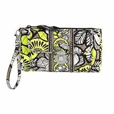 Vera Bradley ~ Citron Pushlock Wristlet ~ NEW