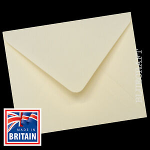 30 pack x Ivory Square 130mm 5 inch Envelopes 100gsm Stationery & Invites
