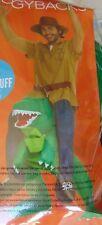 Adult Costume Piggyback T-Rex Ride On Halloween Dinosaur Morphipiggybacks New