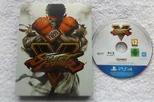 STREET FIGHTER V PS4 PLAYSTATION 4 V.G.C. FAST POST ( fighting game )