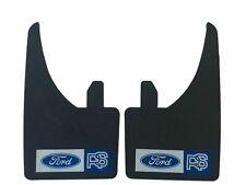 Ajuste Universal Ford RS mudflaps rojo y blanco (juego de 4) Escort Cosworth Focus