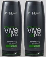 2 ORIGINAL LOREAL VIVE PRO MENS STYLE INFUSE FINE HAIR CONDITIONER FREE SHIPPING