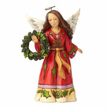 Jim Shore 'Find Comfort in Christmas Joy' Pint Sized Angel with Wreath 4058806