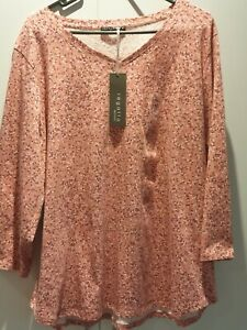 Regatta Women Top Blouse size 20 Pink Brand New With Tags