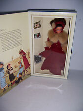 1994 Victorian Elegance Winter Ice Skate Special Edition Barbie Doll Nrfb
