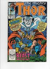 THE Mighty THOR #412 Marvel 1990 Dr Doctor Strange Beta Ray Bill appearance