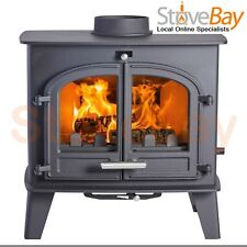 Hunter Cleanburn Norreskoven Two Door Log Burner Woodburning Multifuel Stove