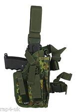 Pistol Holster  Right Hand Large (German Flecktarn) Fits TiPX, Tiberius 8  [AJ7]